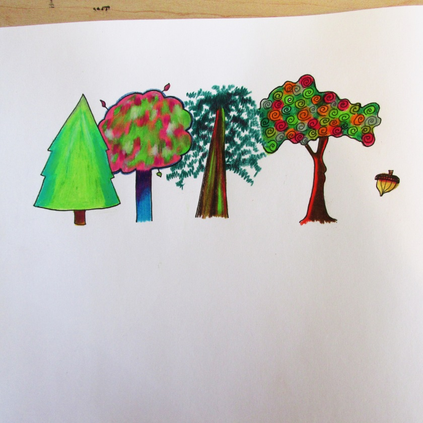 Design some magical trees.